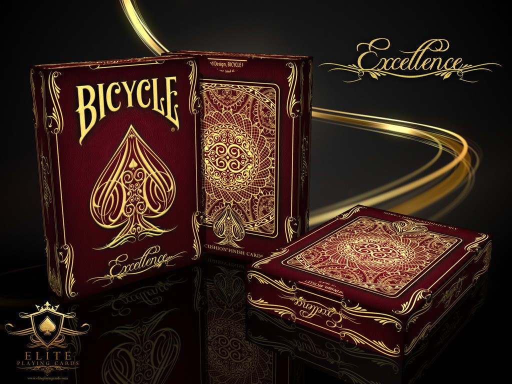 The Bicycle Excellence Deck by Elite Playing Cards