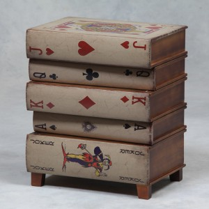 Playing Cards Set of Drawers