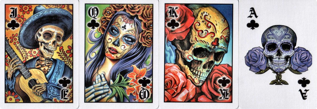Bicycle Club Tattoo Courts and Ace of Clubs