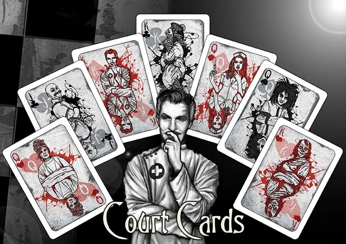 Back to the Asylum Court Cards