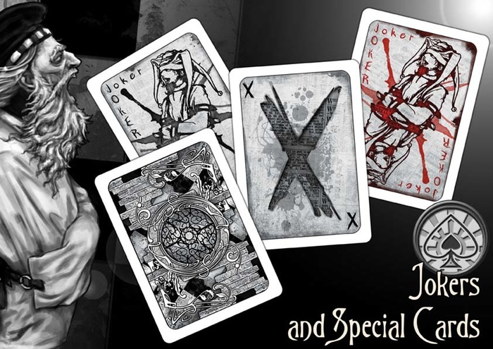 Back to the Asylum Jokers and Special Cards