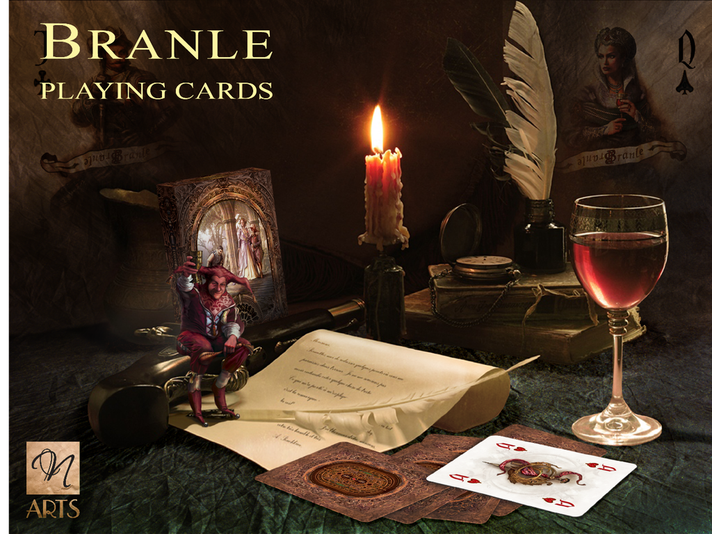 Branle Playing Cards