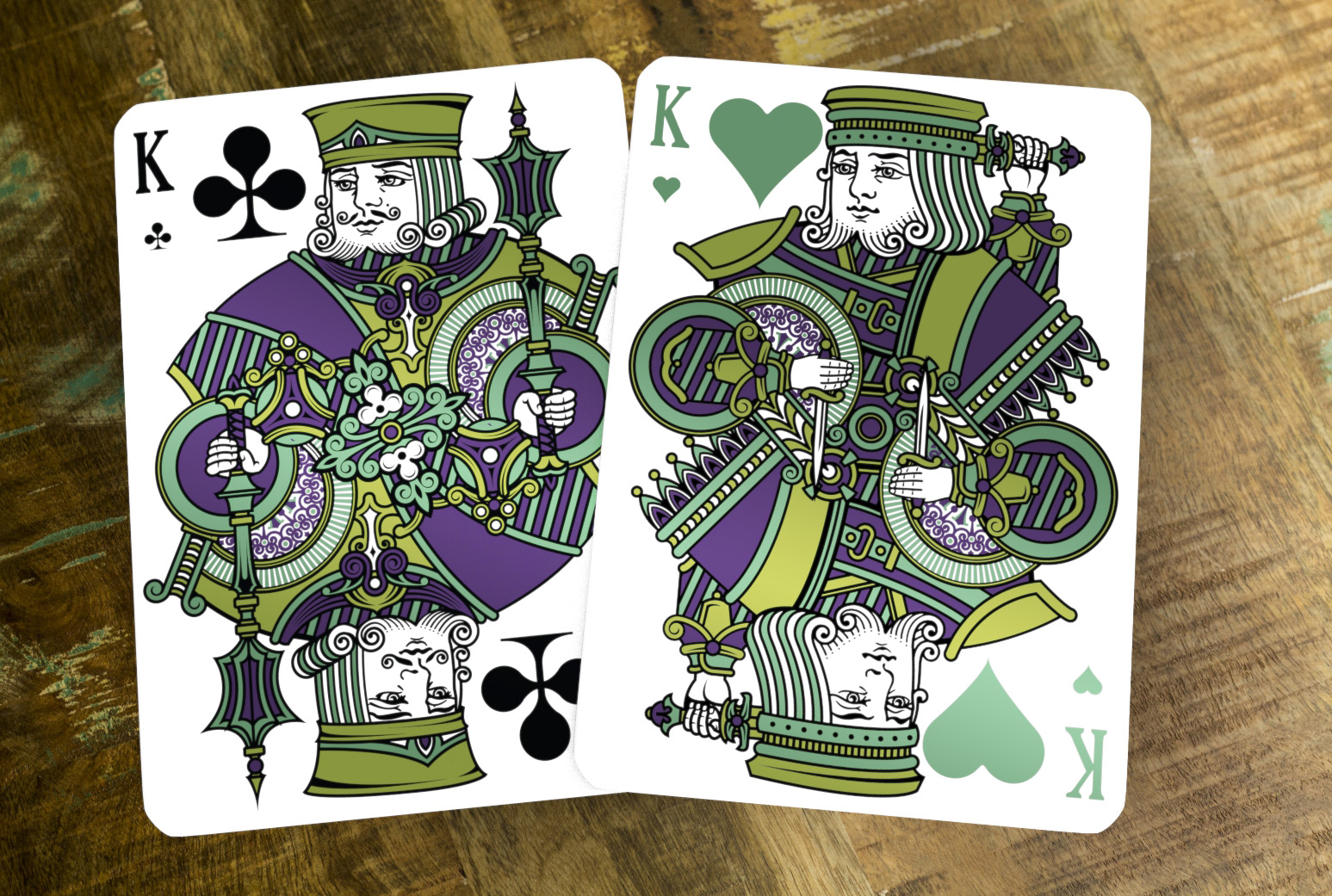 Emerald Tally-Ho Limited Edition Kings