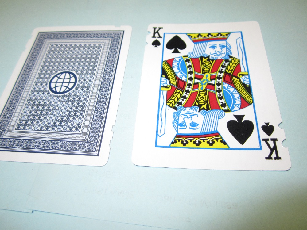 Euchre Playing Cards for the Blind