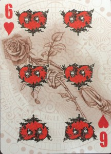 6 of Hearts Alchemy England 1977