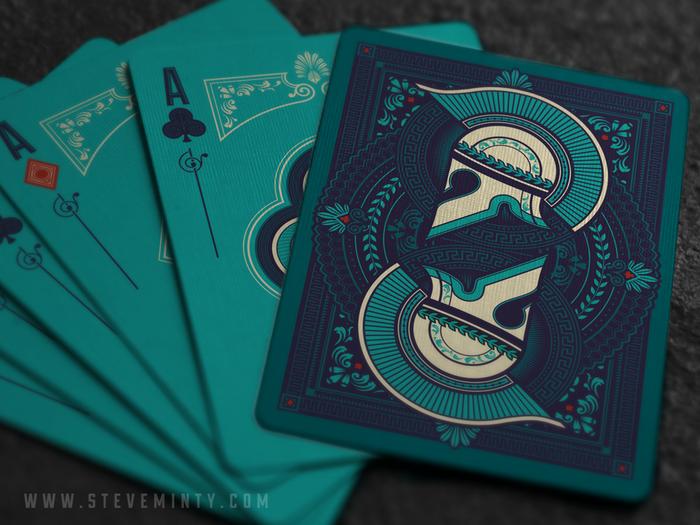 Olympia Underworld Playing Cards