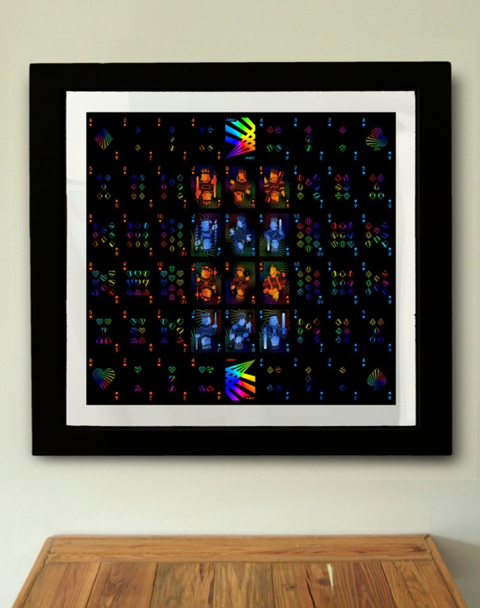 Prism Night Uncut Sheet