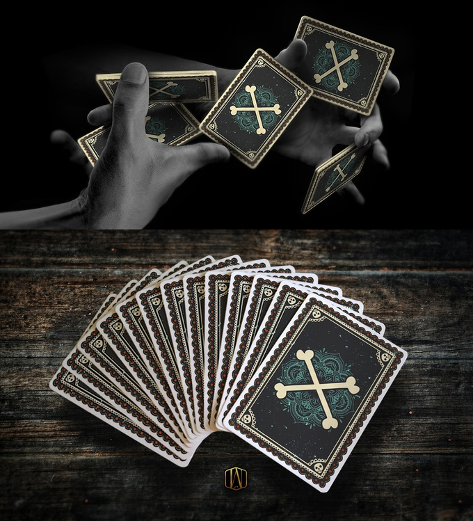 Fuego! Playing Cards - Backs
