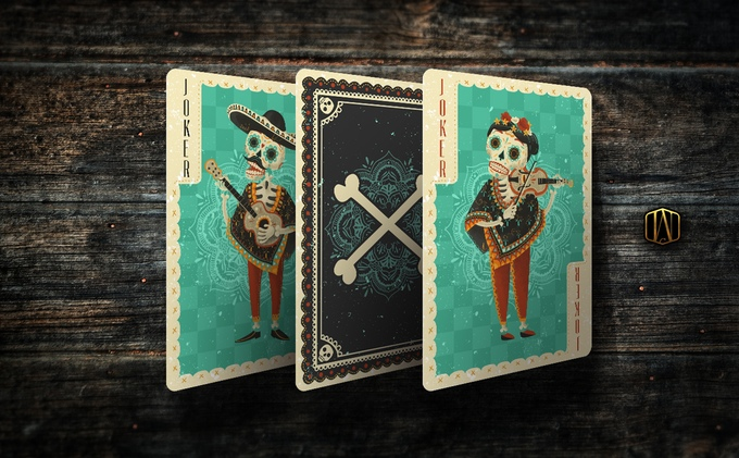 Fuego! Playing Cards - Jokers