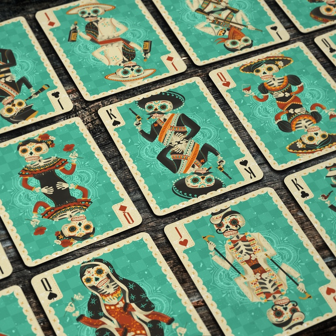 Fuego! Playing Cards - Sol Deck