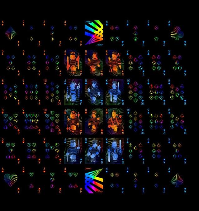 Prism Night Uncut Sheet