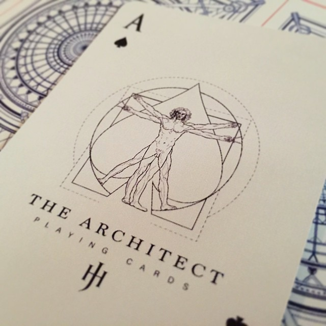 The Architect Playing Cards - Ace of Spades