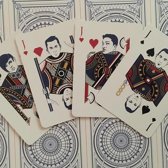The Architect Playing Cards - Jacks