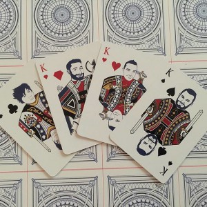 The Architect Playing Cards - Kings