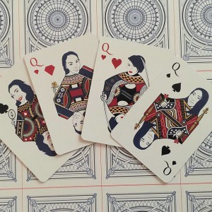 The Architect Playing Cards - Queens