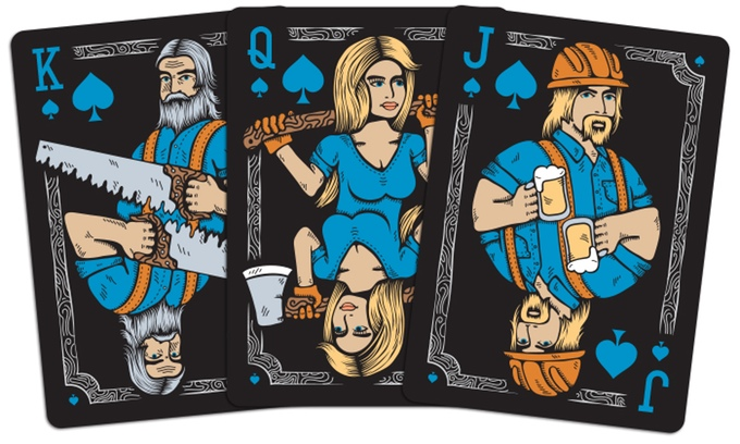 The Lumberjacks 2nd Edition Courts - Spades