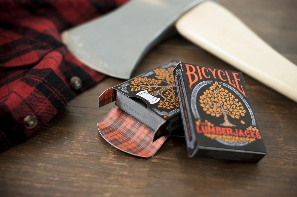 Bicycle The Lumberjacks