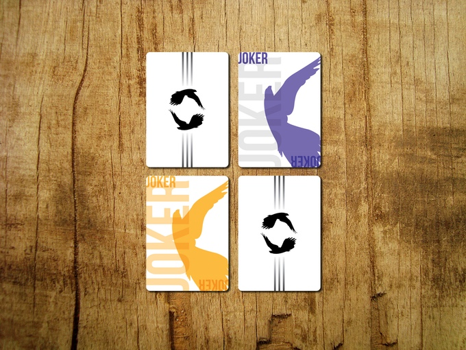 Hawk Playing Cards - Jokers and Backs