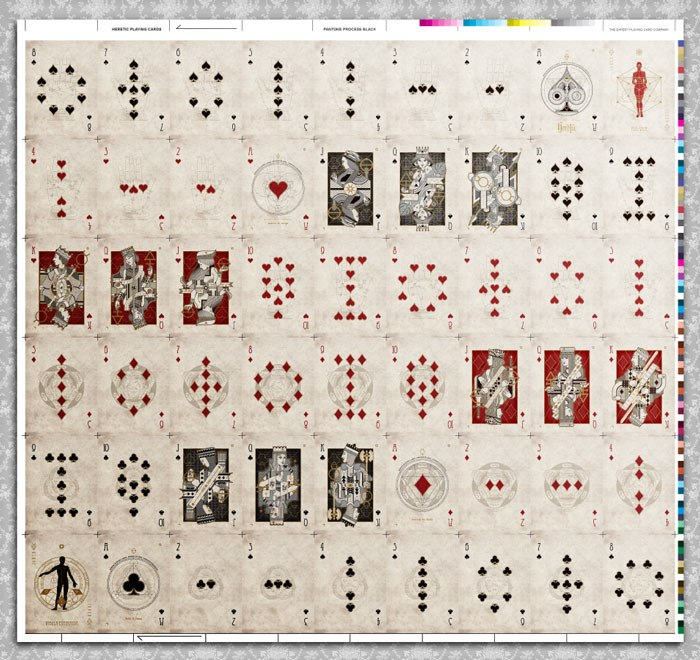 'Heretic' Uncut Sheet by Stockholm17