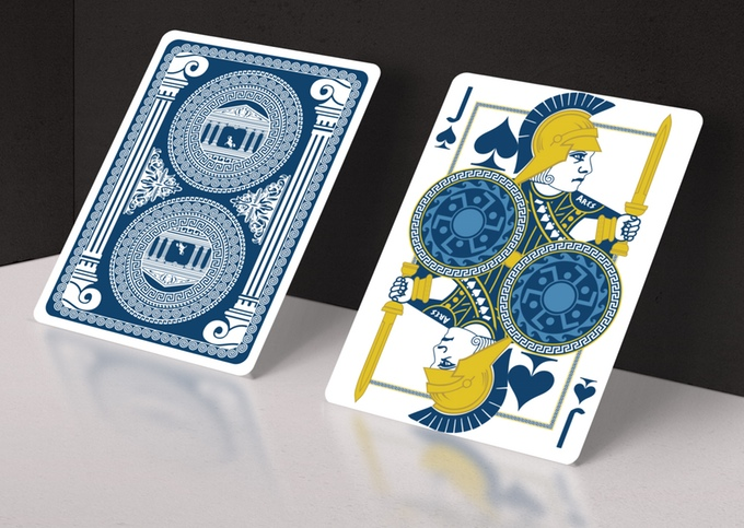 Olympus Bicycle Playing Cards - Ares - God of War