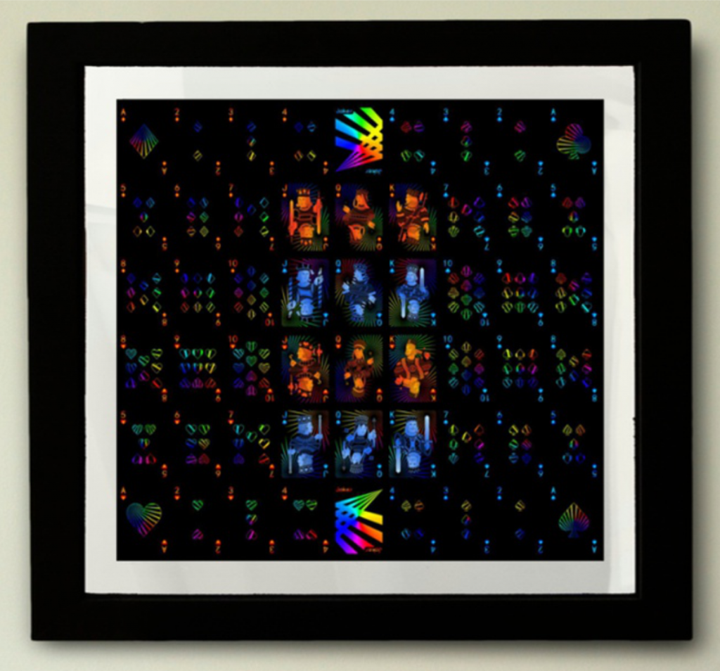 Prism: Night Uncut Sheet by Elephant Playing Cards
