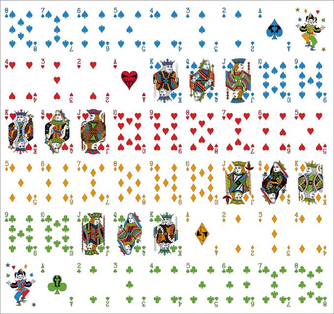 Rainbow Illusion Uncut Sheet