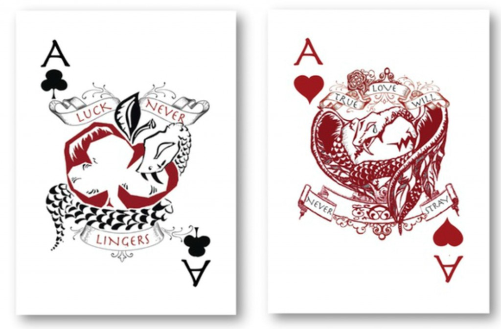 Rogue Queen Playing Cards Aces