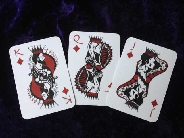 Rogue Queen Playing Cards Diamonds Court Cards