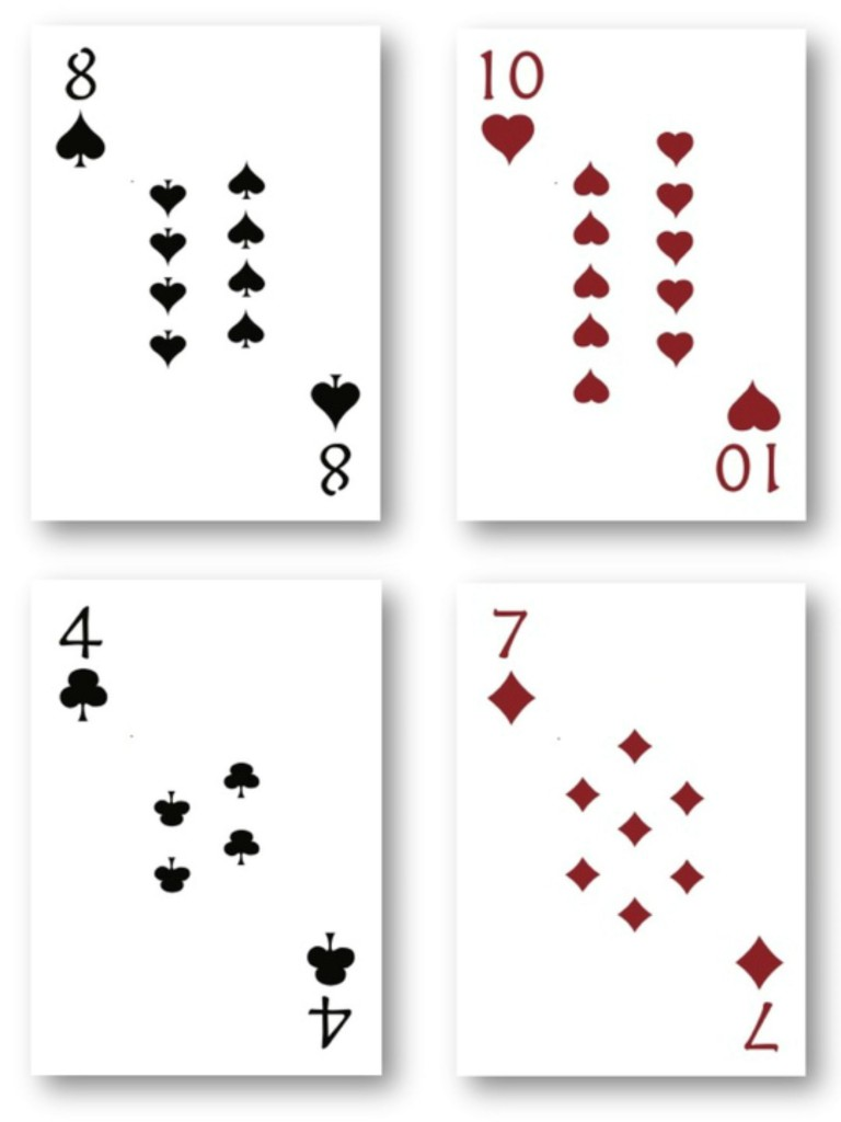 Rogue Queen Playing Cards Pips