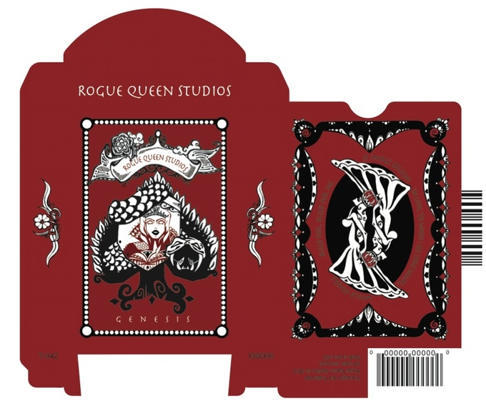 Rogue Queen Playing Cards Tuck Box