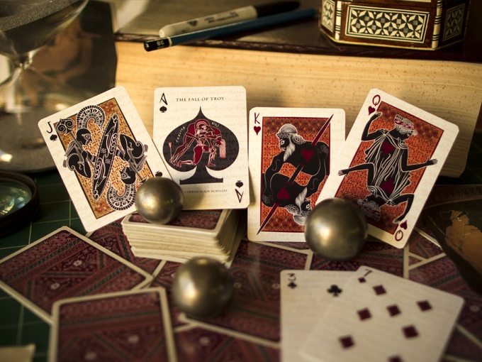 The Fall of Troy Playing Cards