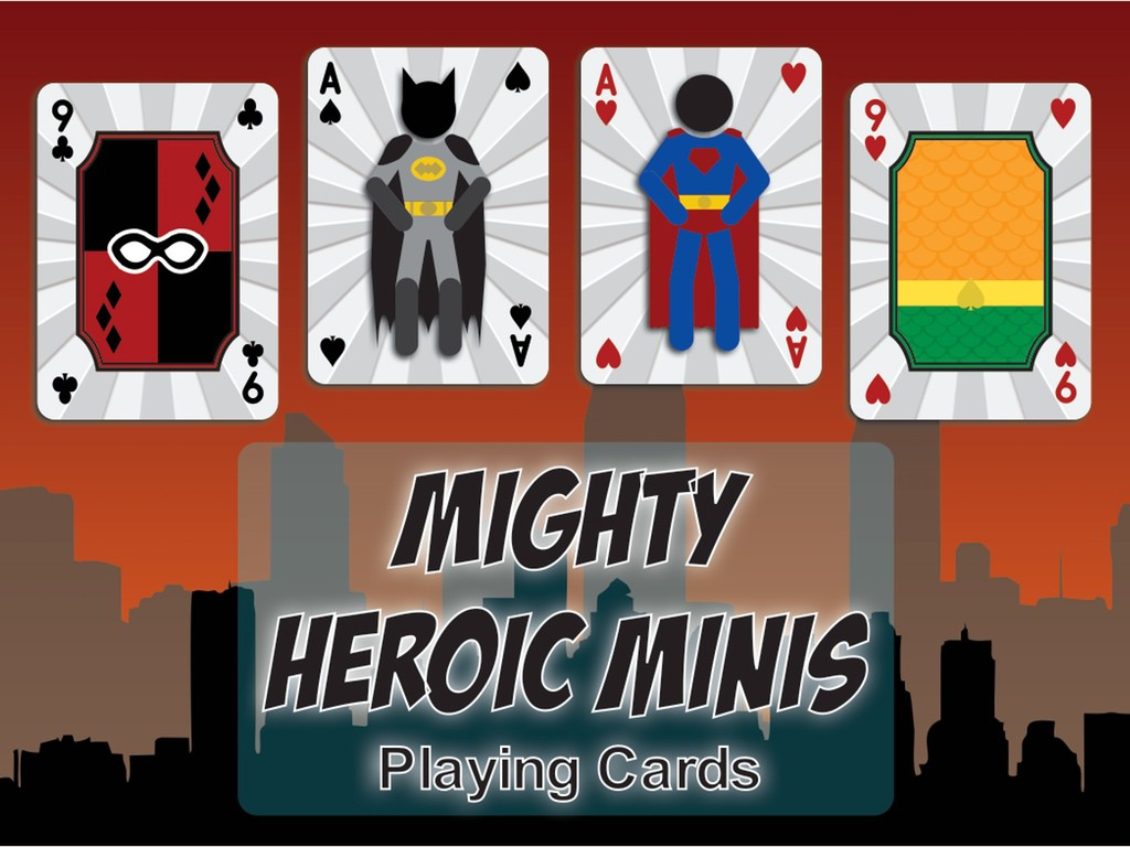 Mighty Heroic Minis Playing Cards
