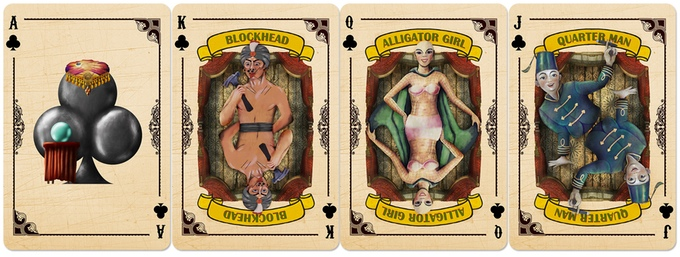 Slideshow Playing Cards Clubs Courts