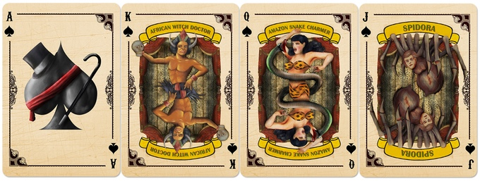 Slideshow Playing Cards Spades Courts