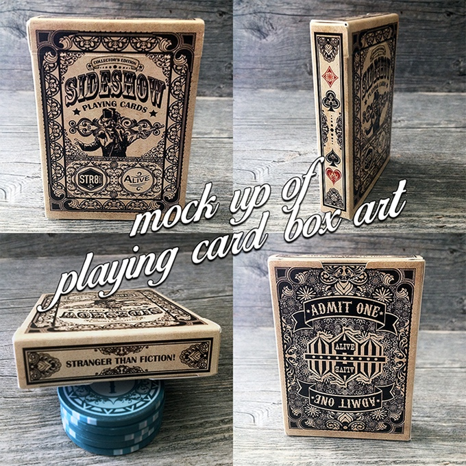Slideshow Playing Cards Tuck Box