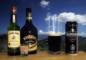 Favourite tipples of Irish playing card collectors