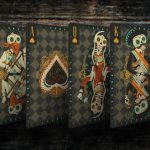 Fuego! Playing Cards - Luna Courts, Spades