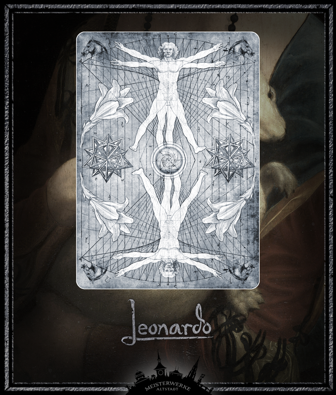 Leonardo Edition Silver Card Back
