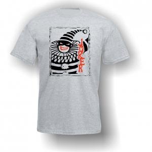 Evil Joker T-Shirt Grey