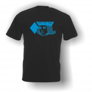 Jack of Diamonds T-Shirt Black Blue