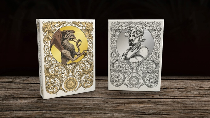 Medieval Playing Cards Gold & Silver Edition Decks