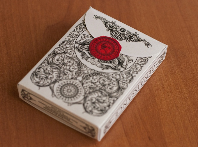 Medieval Playing Cards Tuck Box