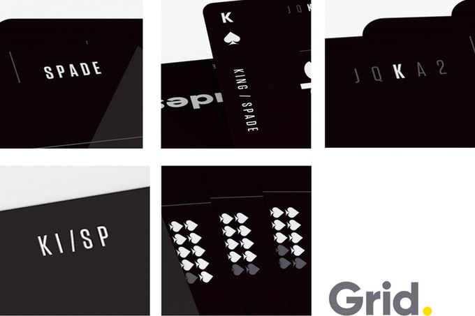 Grid Playing CardsDetails